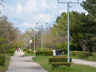 Дорога к аквапарку и авкариуму